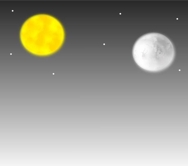 (ฉบับการ์ตูน) คนตาบอด คนตาดี ดวงอาทิตย์และดวงจันทร์
